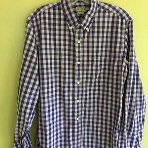 J Crew Men's Shirt Size M.  Blue/Pale Pink